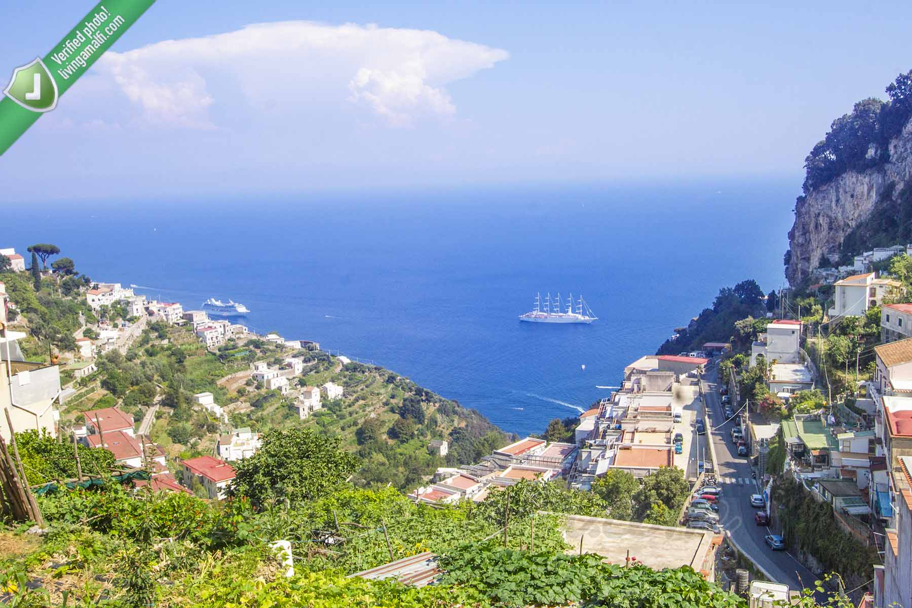 La Mola Double House - Villa in Amalfi